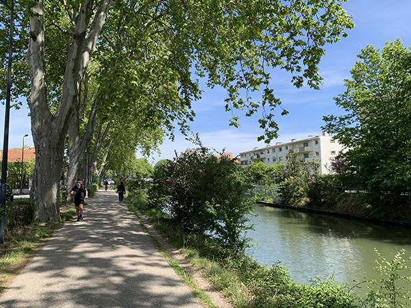 Lieux de drague gay à Toulouse : le Canal du Midi